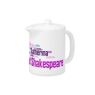 Items inspired by the women of Shakespeare's stori
