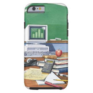 Items on a school teachers desk  Color Tough iPhone 6 Case