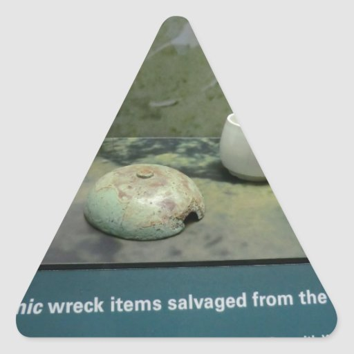 Items Salvaged from the Titanic Sticker