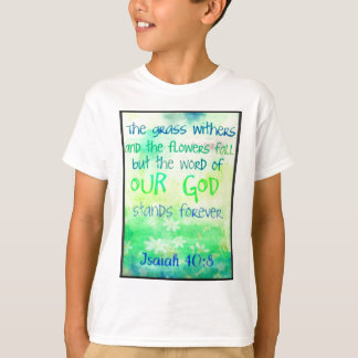 Items with colorful scripture design T-Shirt