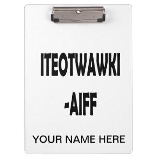 ITEOTWAWKI AIFF CLIPBOARDS