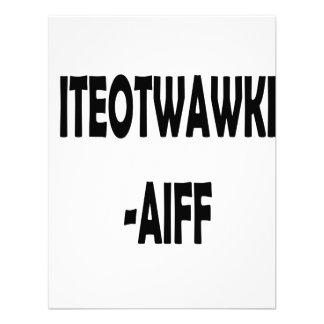ITEOTWAWKI AIFF CUSTOM INVITATION