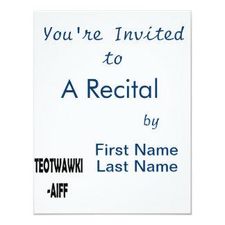 ITEOTWAWKI AIFF PERSONALIZED INVITES