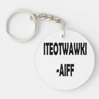 ITEOTWAWKI AIFF KEYCHAIN