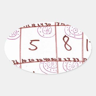 Iterator Oval Sticker