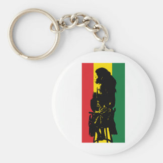 Ites, Gold and Green Keychain