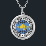 """ITF Necklace<br><div class=""""desc"""">Support your organization with this cool Taekwon-Do necklace</div>"""
