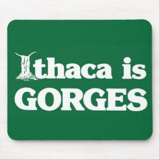 Ithaca es GARGANTAS Mousepad
