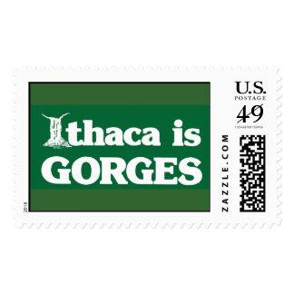 Ithaca es GARGANTAS Timbre Postal