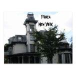 ITHACA N.Y. HISTORICAL BUILDING postcard
