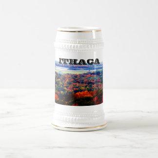 ITHACA, NEW YORK stein 18 Oz Beer Stein