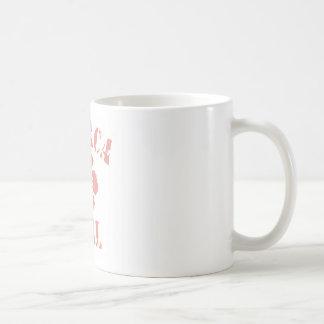 Ithaca Pink Girl Classic White Coffee Mug