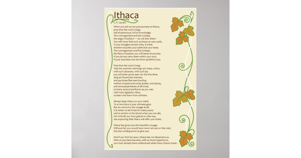 Ithaca Poster | Zazzle.com