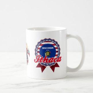Ithaca, WI Classic White Coffee Mug