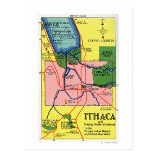 Ithaca y puntos próximos del interés postal