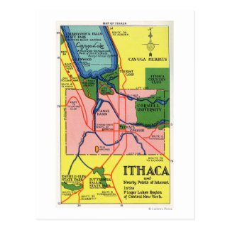Ithaca y puntos próximos del interés postales