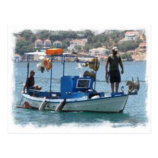 Ithaki island, Greece Postcard