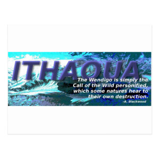 Ithaqua Postcard