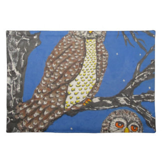 IThe Watchers Of The NightMG_0248.JPG Cloth Placemat