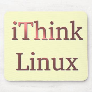 iThink Linux, diseños del decano de Che Tapete De Raton