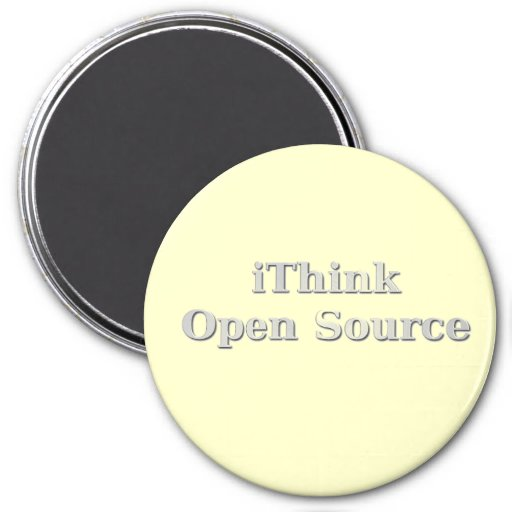 iThink Open Source Fridge Magnets