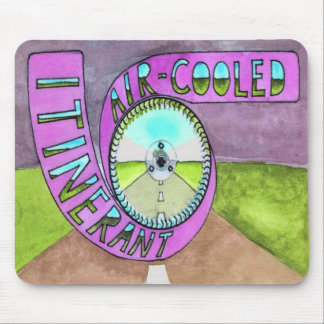 Itinerant Air-Cooled Logo Mousepad