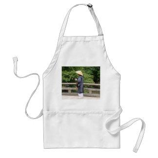 Itinerant monk adult apron