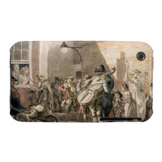 Itinerant Musicians playing in a poor part of town iPhone 3 Case-Mate Case