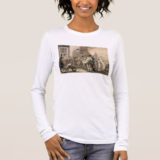 Itinerant Musicians playing in a poor part of town Long Sleeve T-Shirt