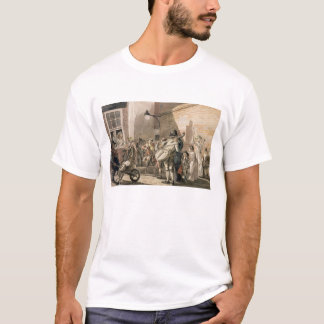 Itinerant Musicians playing in a poor part of town T-Shirt