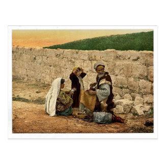 Itinerant shoemaker of Jerusalem, Holy Land classi Postcard