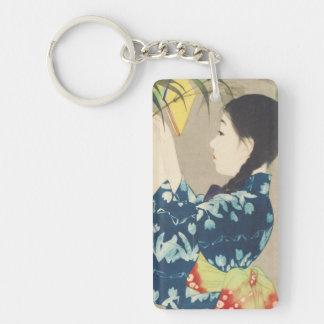 Ito 100 Figures of Beauties Wearing Takasa Kimono Keychain
