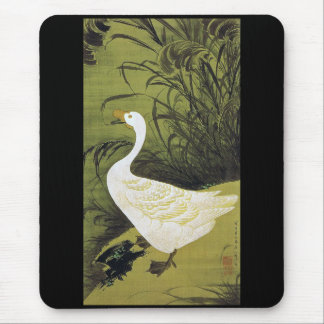 Itō Jakuchū, Itoh it is young 冲, the reed 鵞 figure Mouse Pad