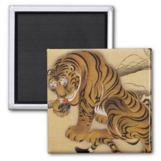 Ito Jakuchu Tiger Magnet