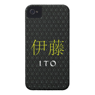 Ito Monogram Case-Mate iPhone 4 Case