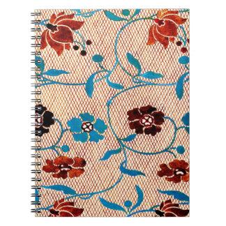 Ito Nishiki Brocade 1825 Spiral Note Book