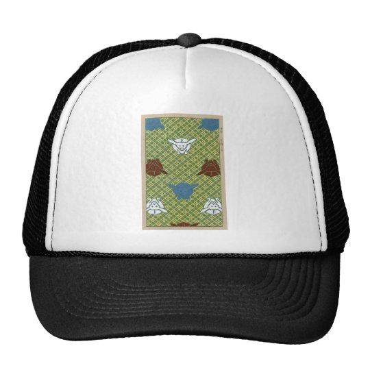 Ito nishiki yarn brocade trucker hat