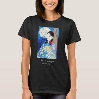 Ito Shinsui Autumn Full Moon Young beautiful Girl T-Shirt