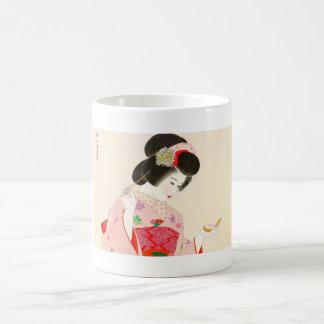 Ito Shinsui Make up vntage japanese geisha lady Coffee Mug