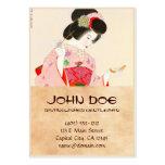 Ito Shinsui Make up vntage japanese geisha lady Large Business Card