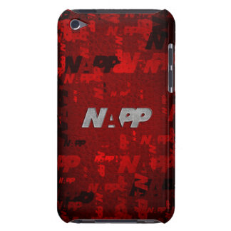 """iTouch Case by NAPP - """"Red Artsy"""" iPod Case-Mate Cases"""