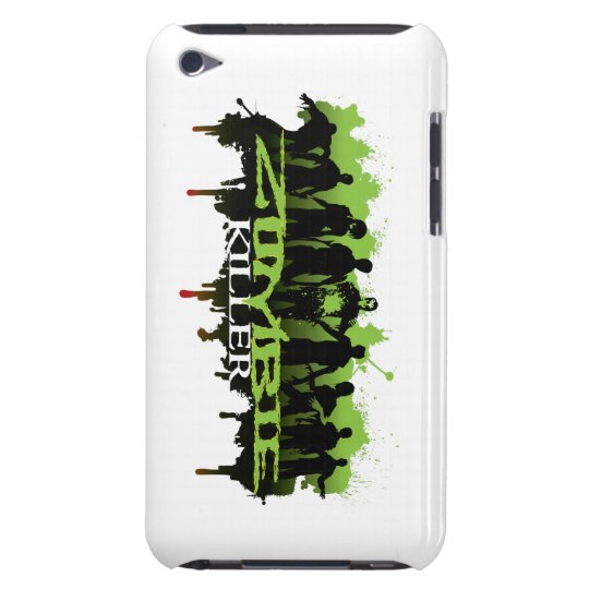 itouch-case zombie-killer iPod touch cover