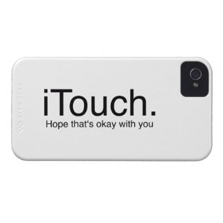 iTouch Joke iPhone 4 Covers