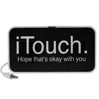 iTouch Joke Portable Speaker