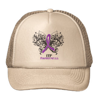 ITP Awareness Butterfly Trucker Hat