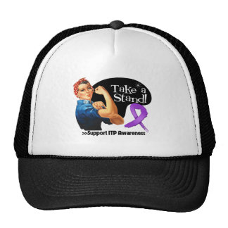 ITP Awareness Take a Stand Trucker Hat