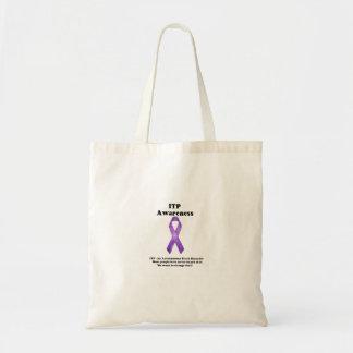 ITP Awareness tote bag