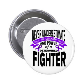 ITP Determined Fighter Pinback Button