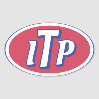 ITP OVAL STICKER