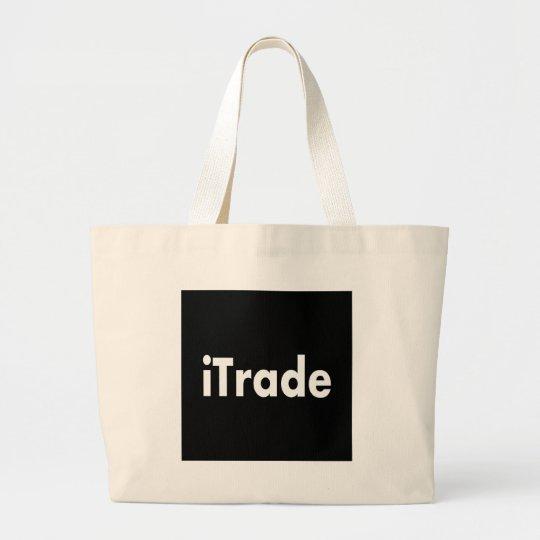 itrade large tote bag